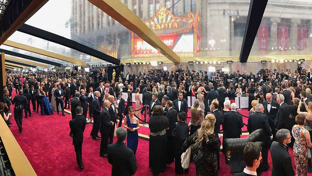 Convening Around A Red Carpet